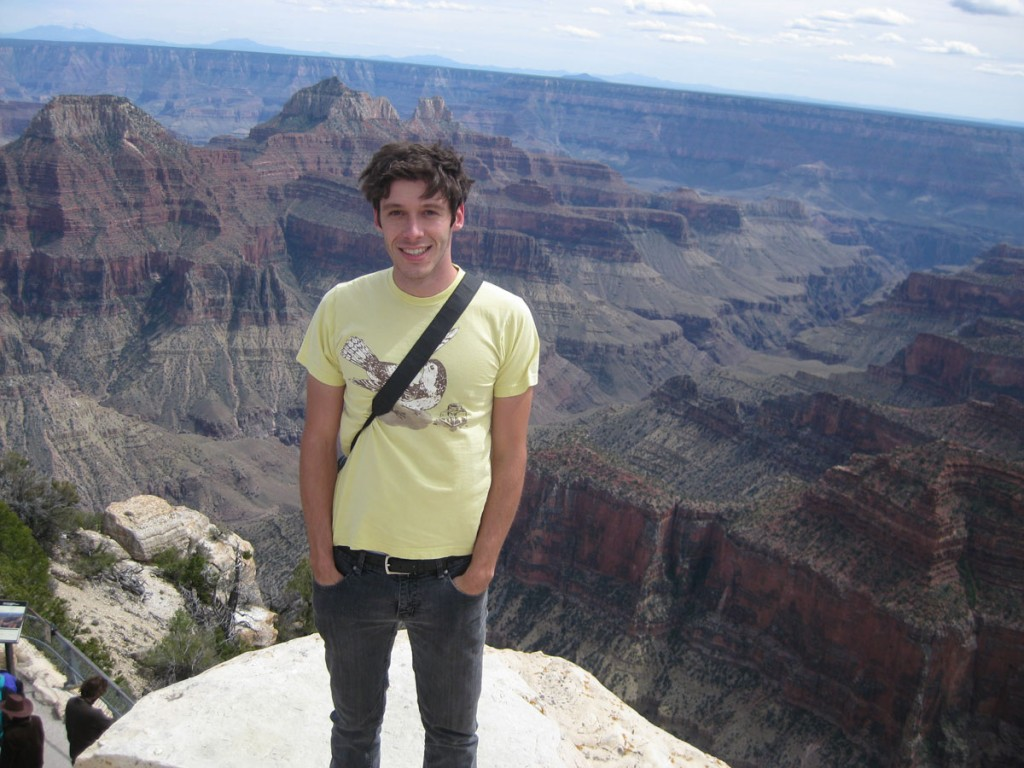 Me at the north rim of the Grand Canyon