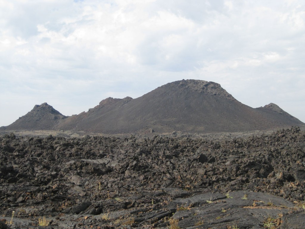 Cinder cones in Craters of the Moon National Monument