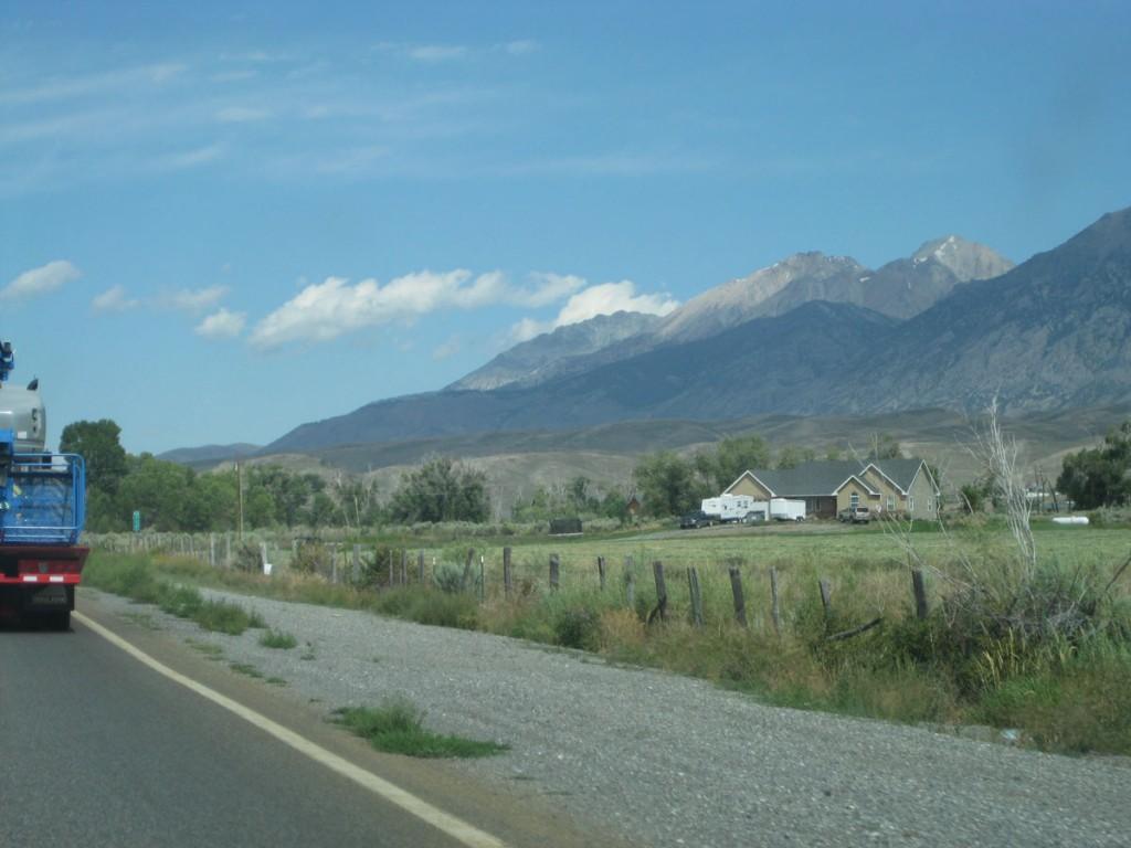 My first look at Borah Peak, the tallest mountain in Idaho