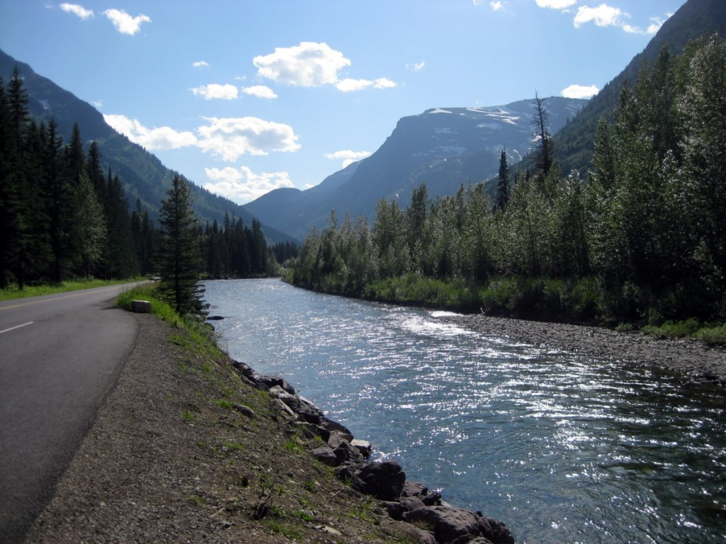 River in Glacier National Park, MT
