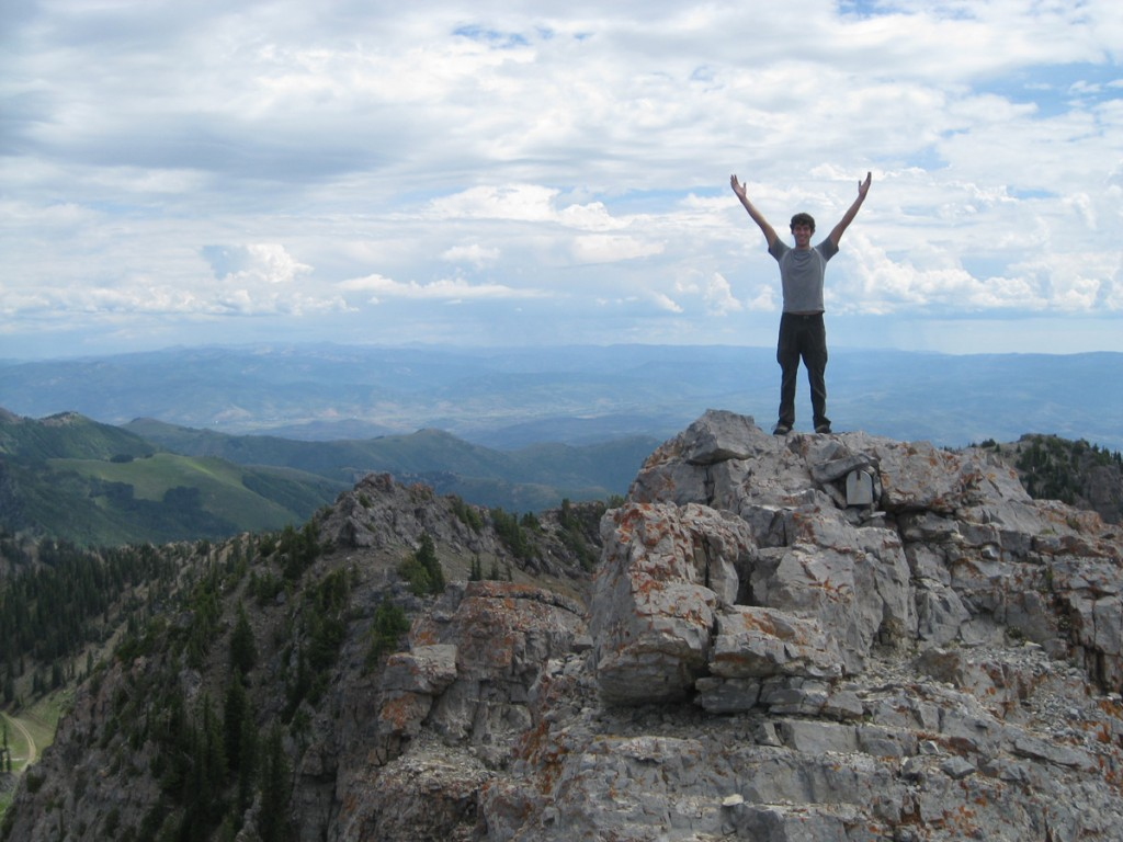 Me on the summit!