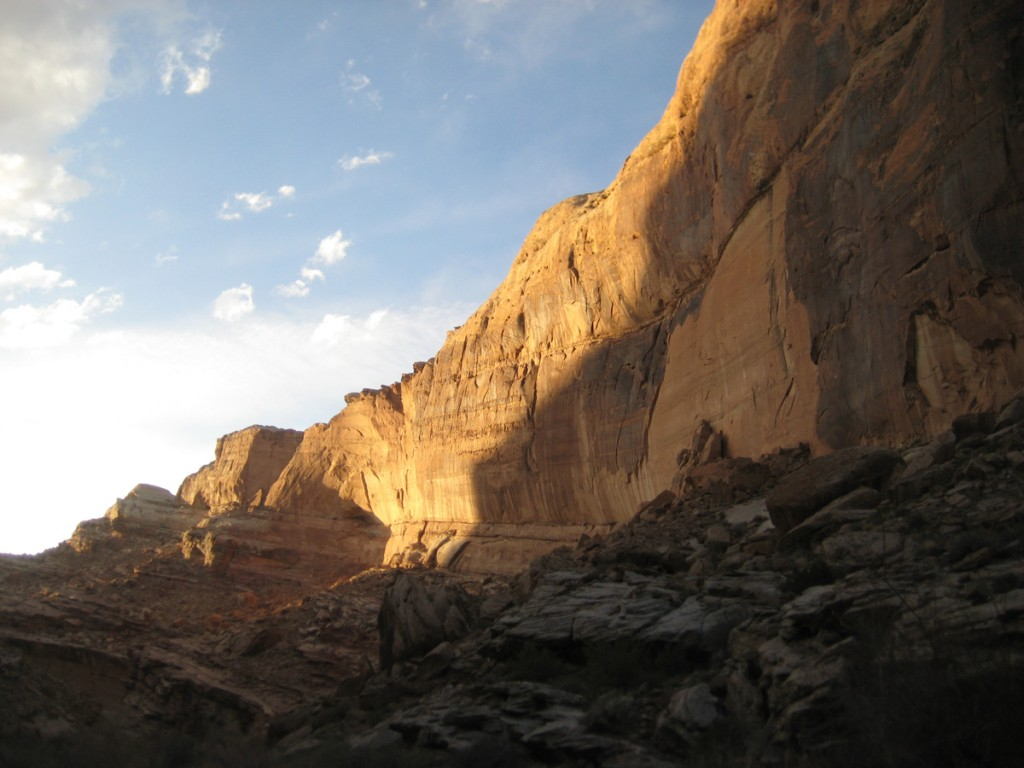 Beautiful Cliffs in Black Dragon Canyon.