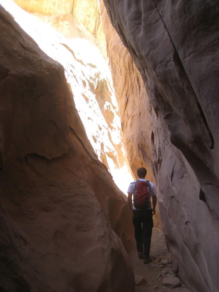 Narrows of Little Wild Horse Canyon.