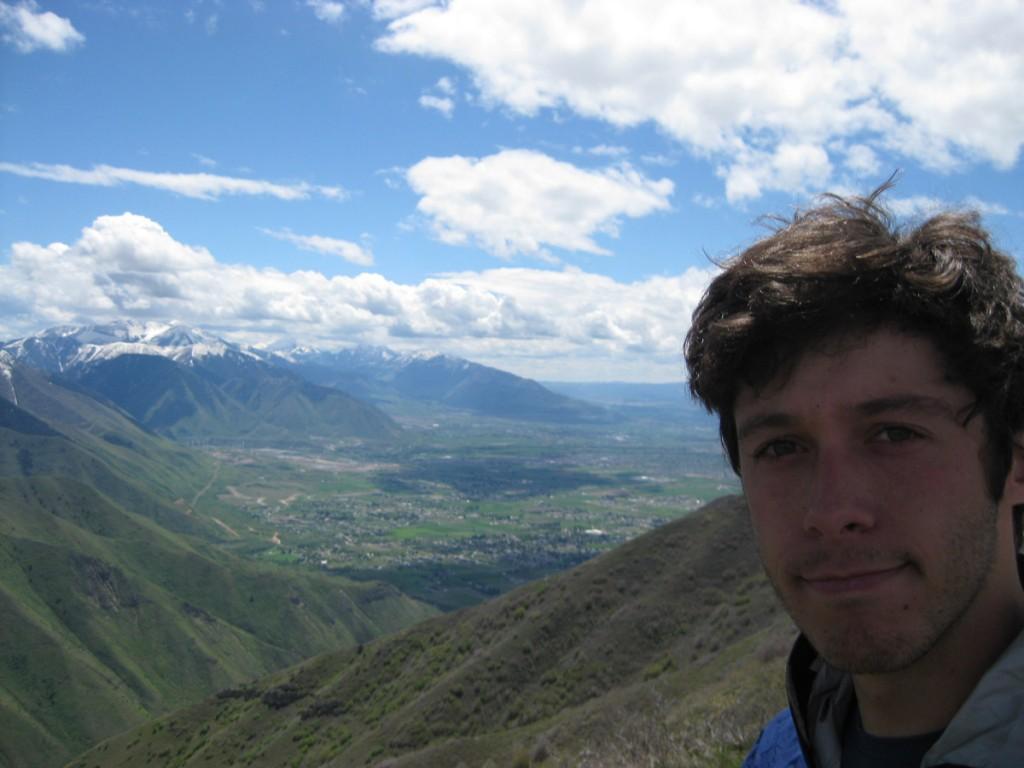Me on top of Powerhouse Mountain.