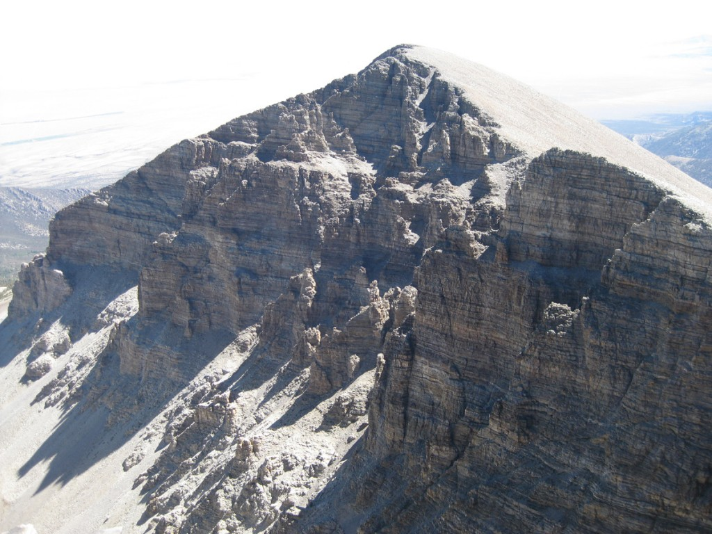 Jeff Davis Peak, the third tallest in Nevada.