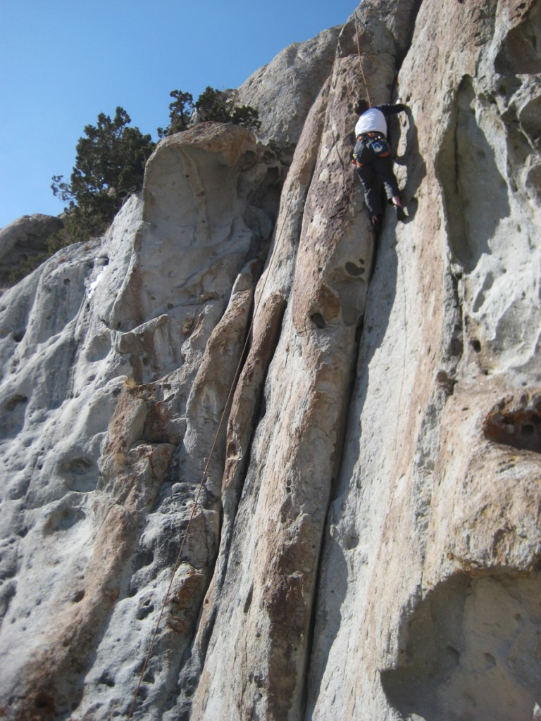 Chris on the 5.8++ crack. Short but fun.