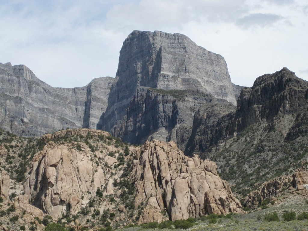 Notch Peak, which boasts the second largest vertical cliff face in the US.