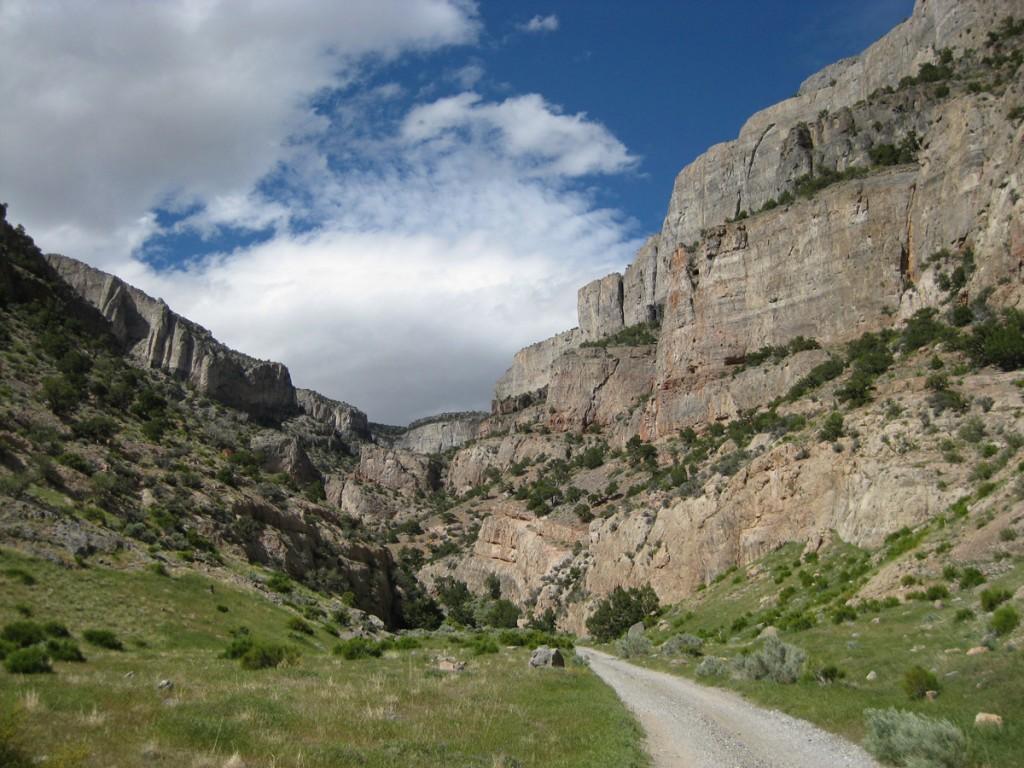 Beautiful Marjum Canyon.