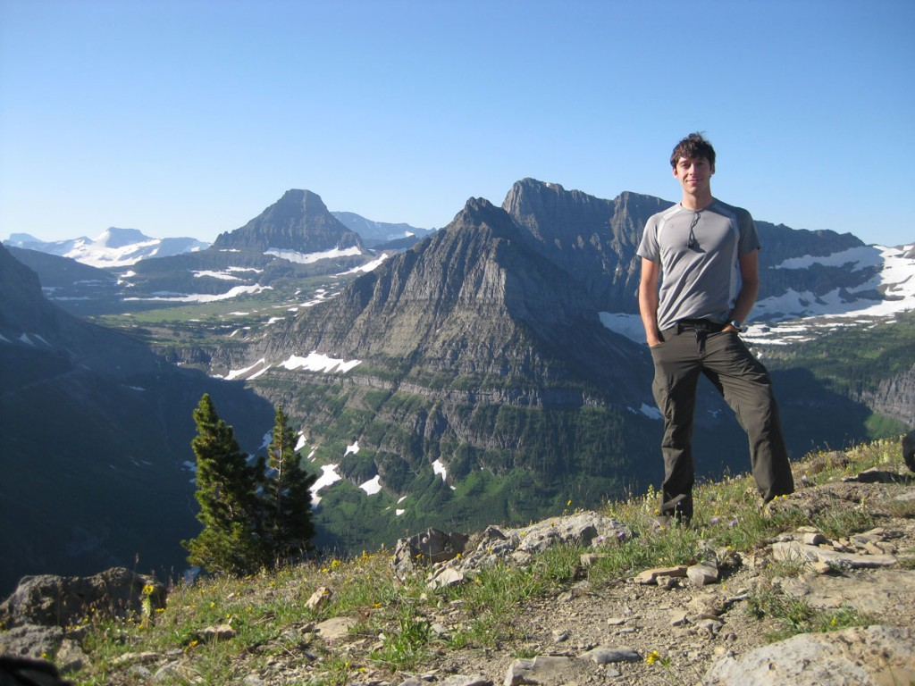 Me on top of Haystack Butte