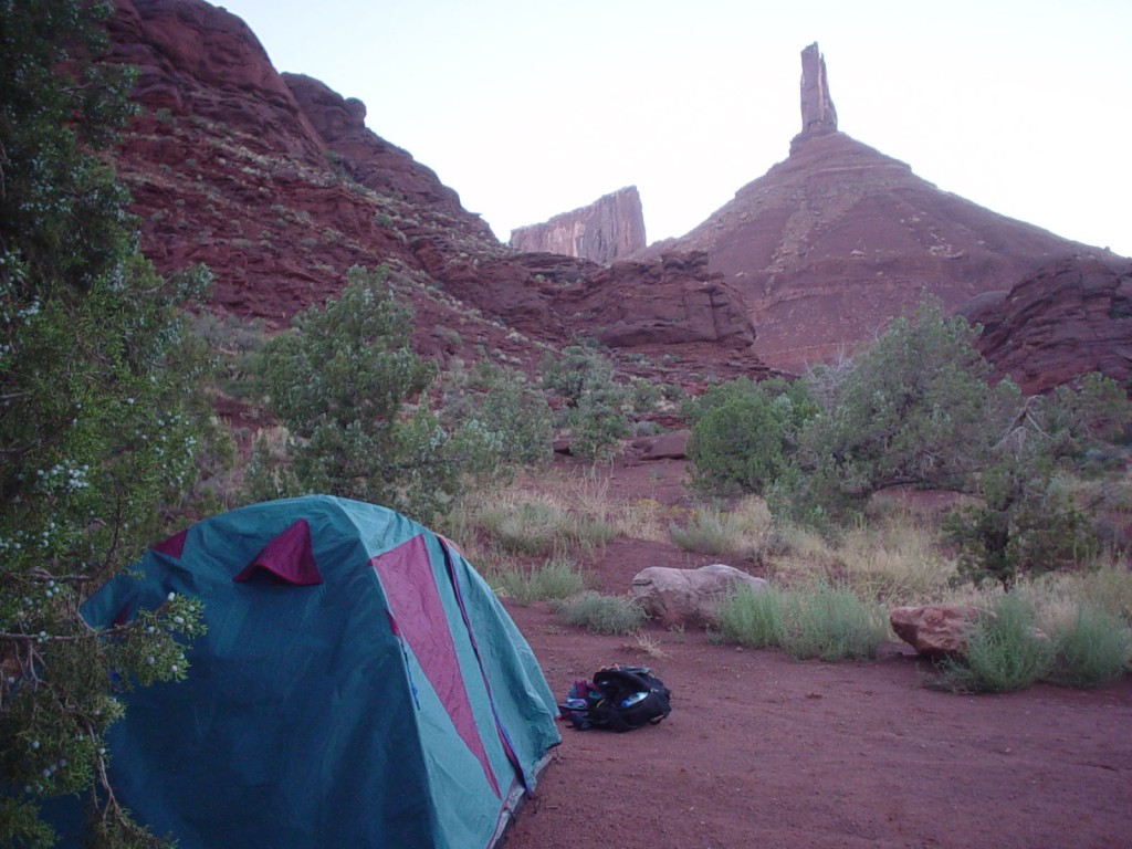 View from camp