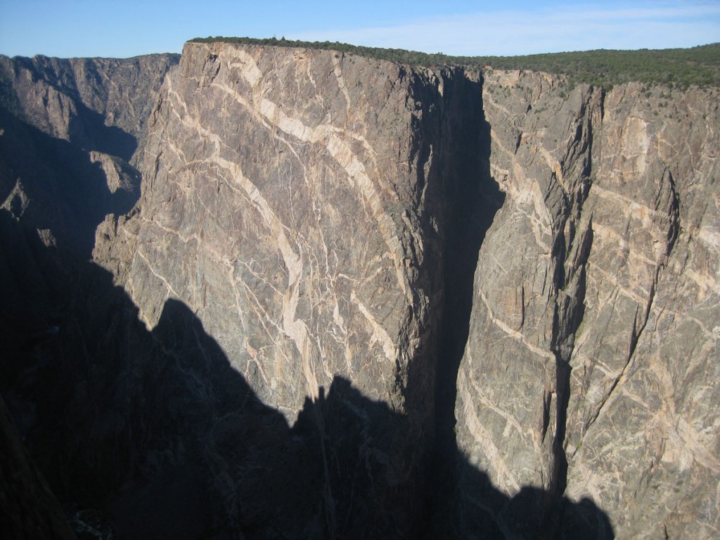 The Painted Wall, the biggest cliff in Colorado.