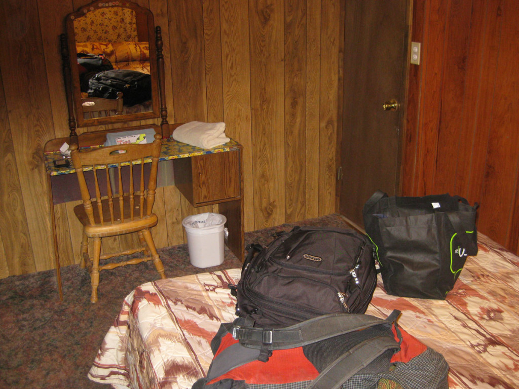 The $24/night room in Moab. Much better than camping.