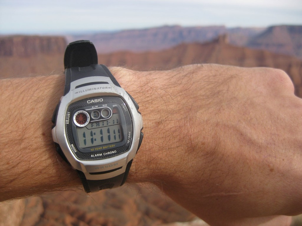 11:11:11 on 11/11/11. A great time to be on top of the Mesa.