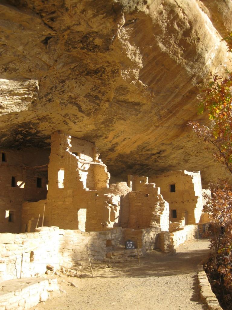 The ruins up close.
