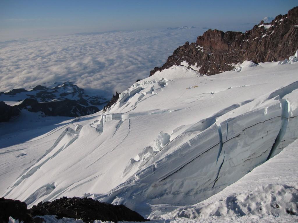 A beautiful glacier.