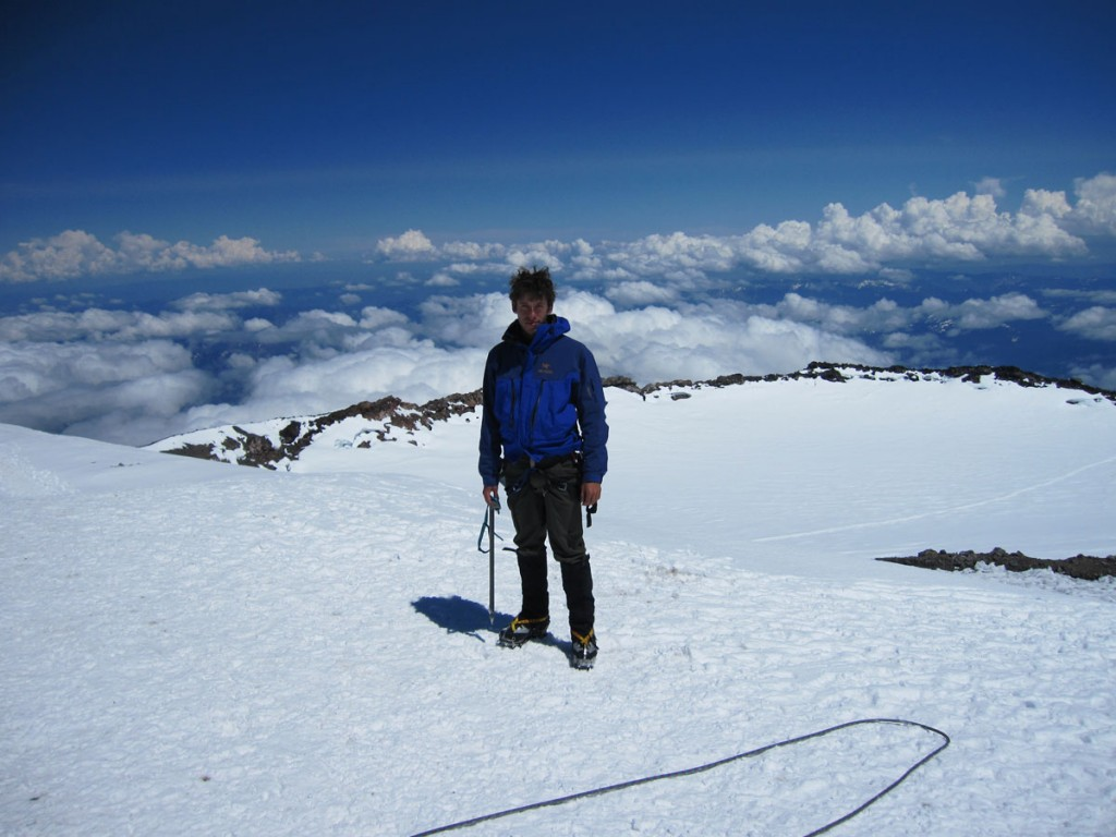 Me on the summit at 14,411'