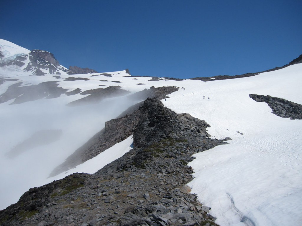 The Muir snowfield.