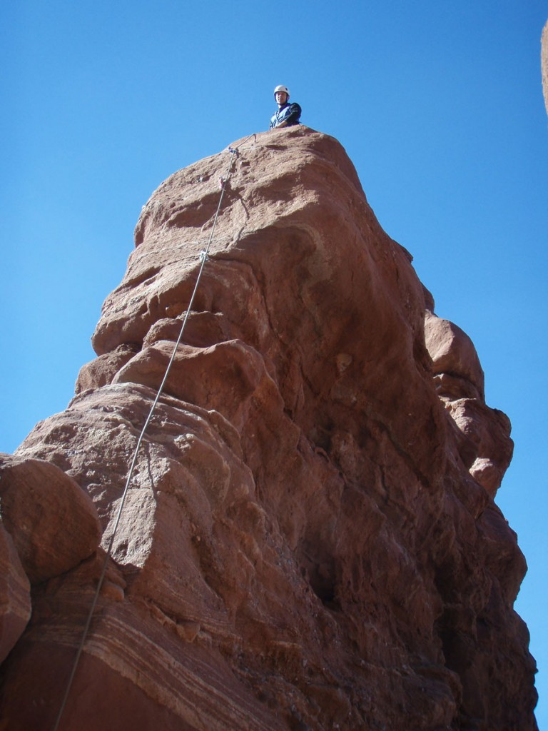 Pitch 3, and me at the top of it.