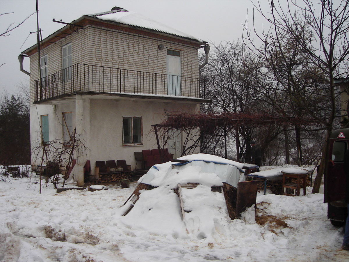 A house in a village.