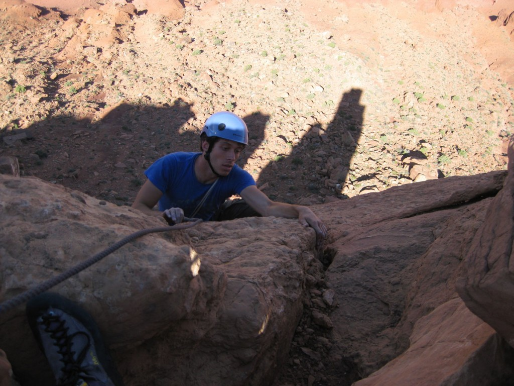 Me topping out.