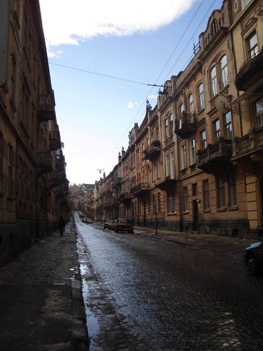 A street in L'viv.
