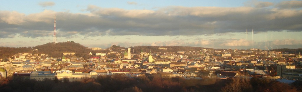 Panorama of the city.