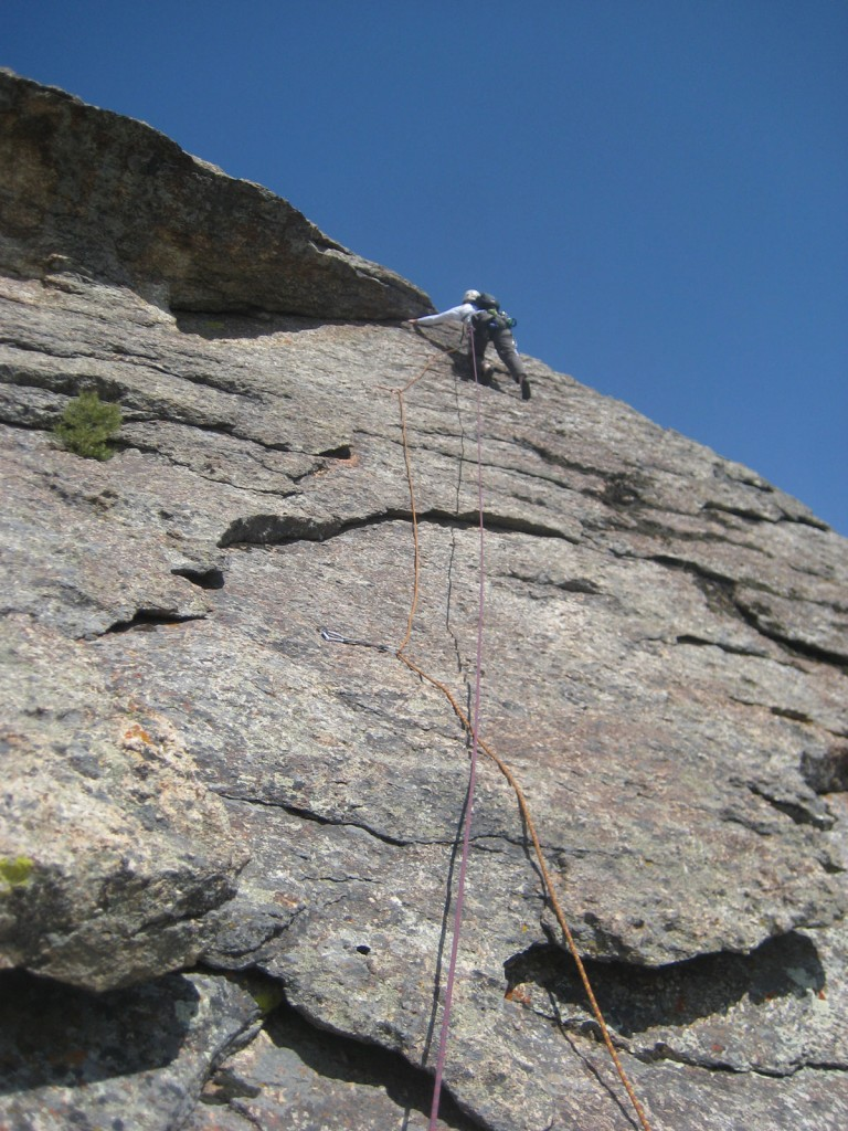 Crisco leading one of the lower pitches.