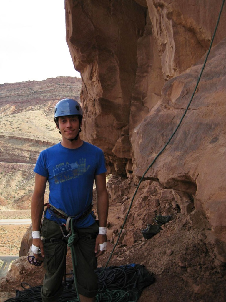 Me about to climb.