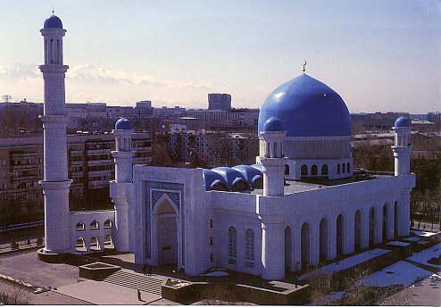 Almaty's main mosque.