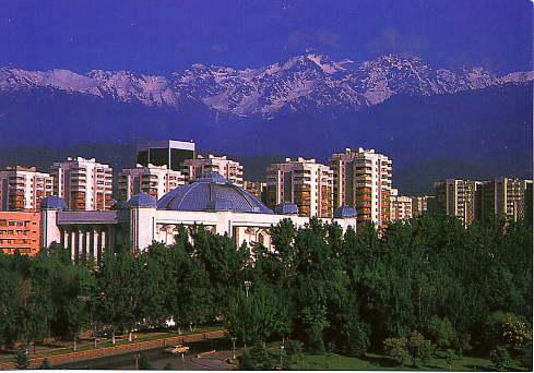 The big museum in Almaty.