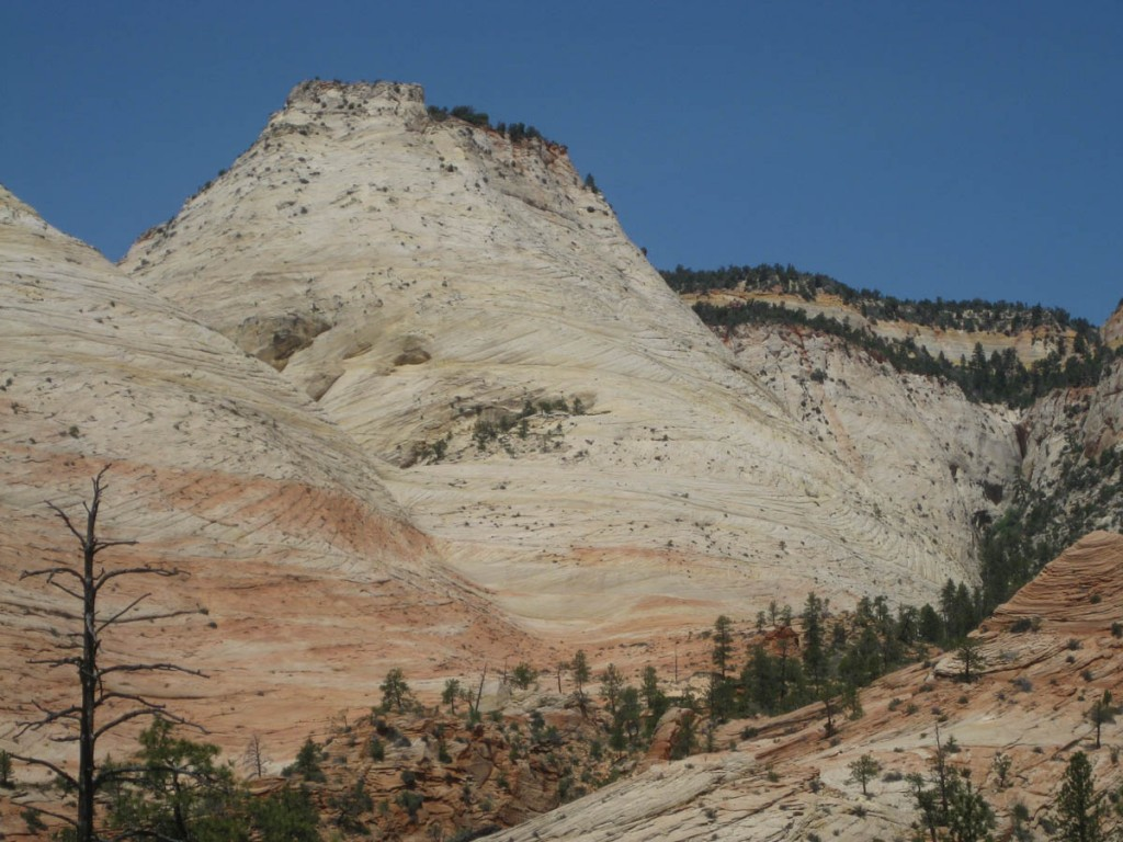 Aries Butte. Led By Sheep starts about halfway up and goes to the top.