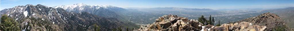 Panorama from the top.