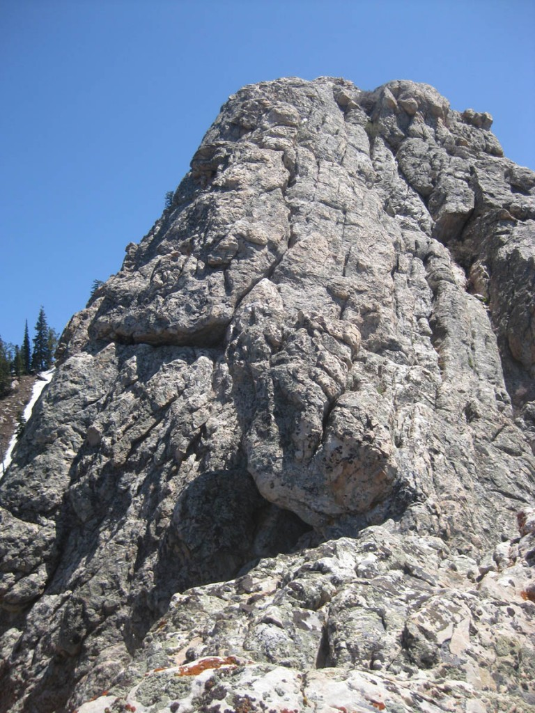 A section of the ridge.