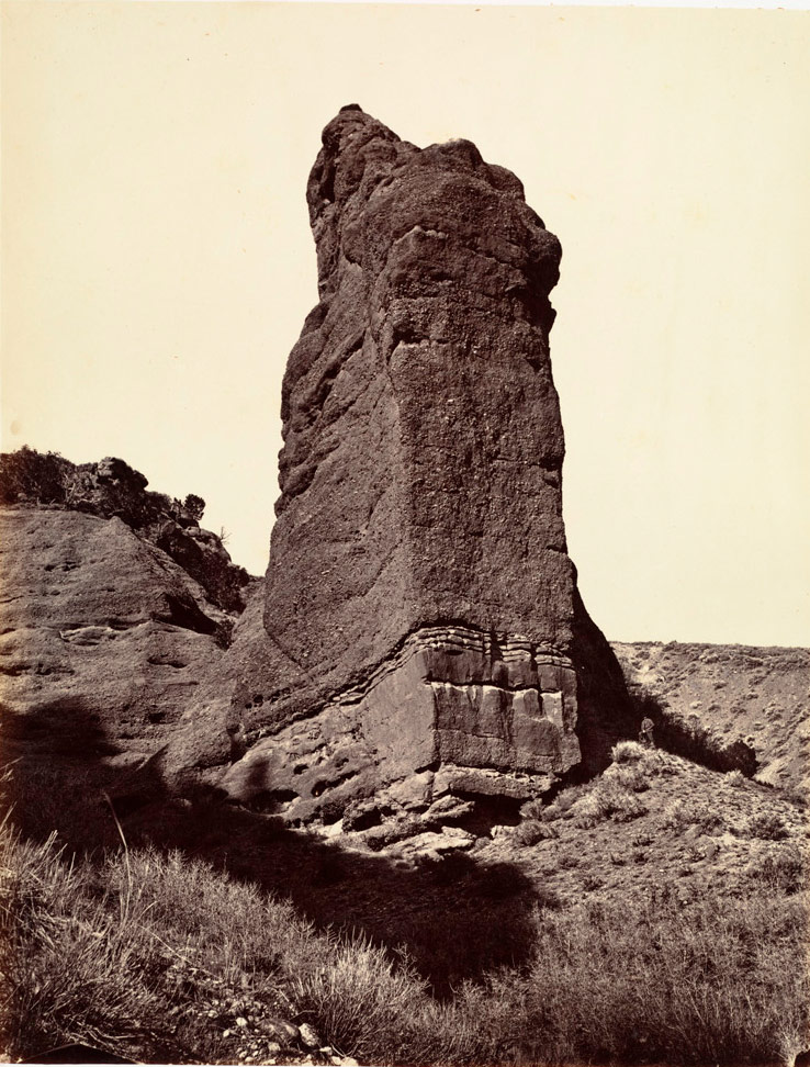 Monument Rock (aka The Pierced Nipple) in 1869.